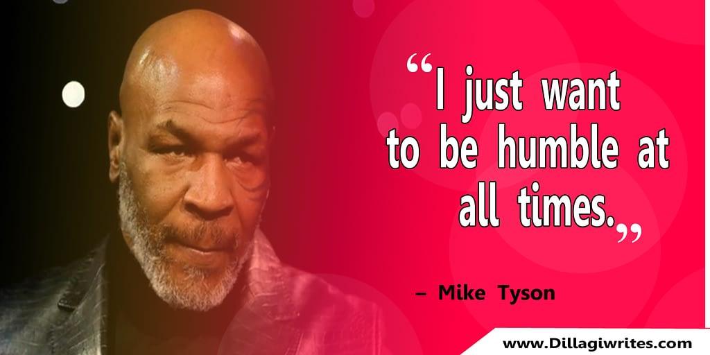 mike tyson determination