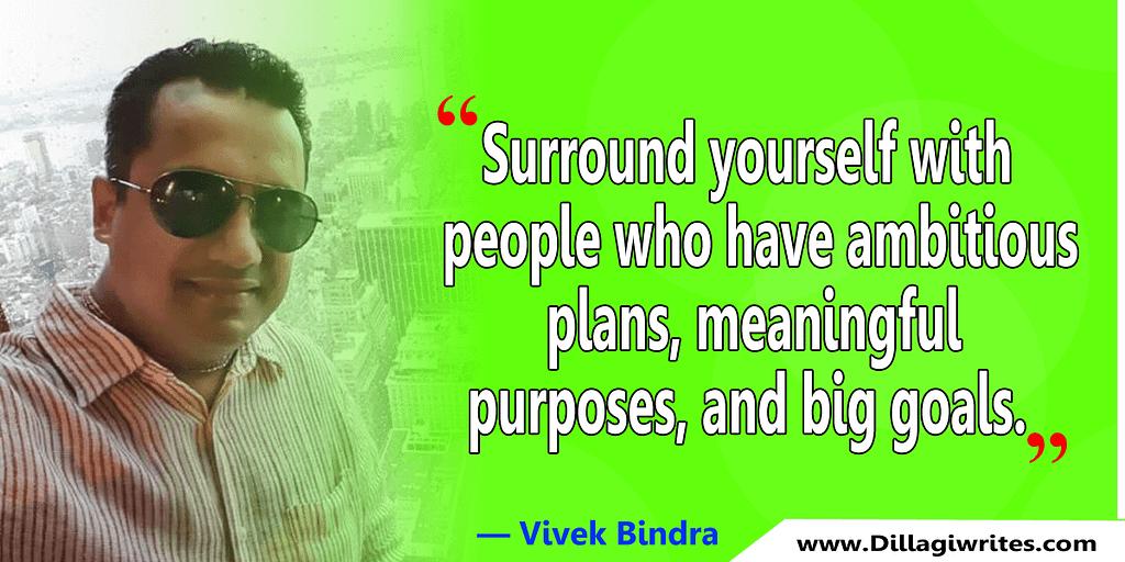 about vivek bindra