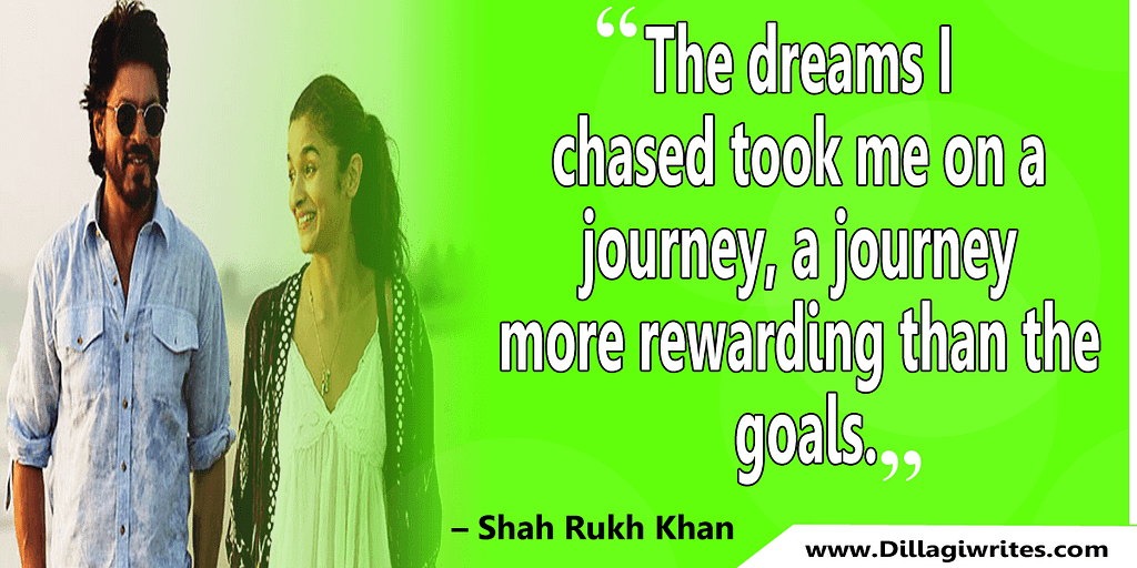 shahrukh khan quotes 20 Shahrukh Khan Quotes and Dialogues  King Khan