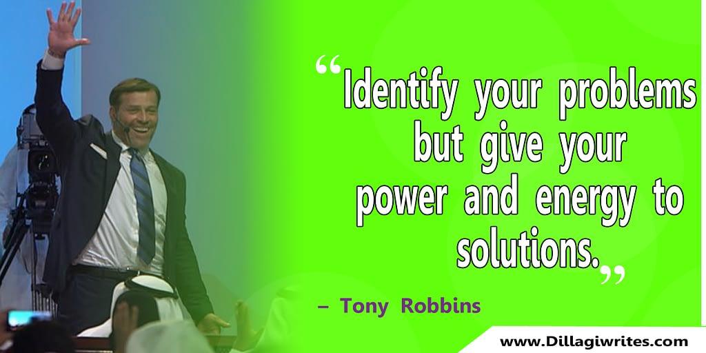 Tony Robbins Quotes 38 Tony Robbins Quotes|That will make you aware