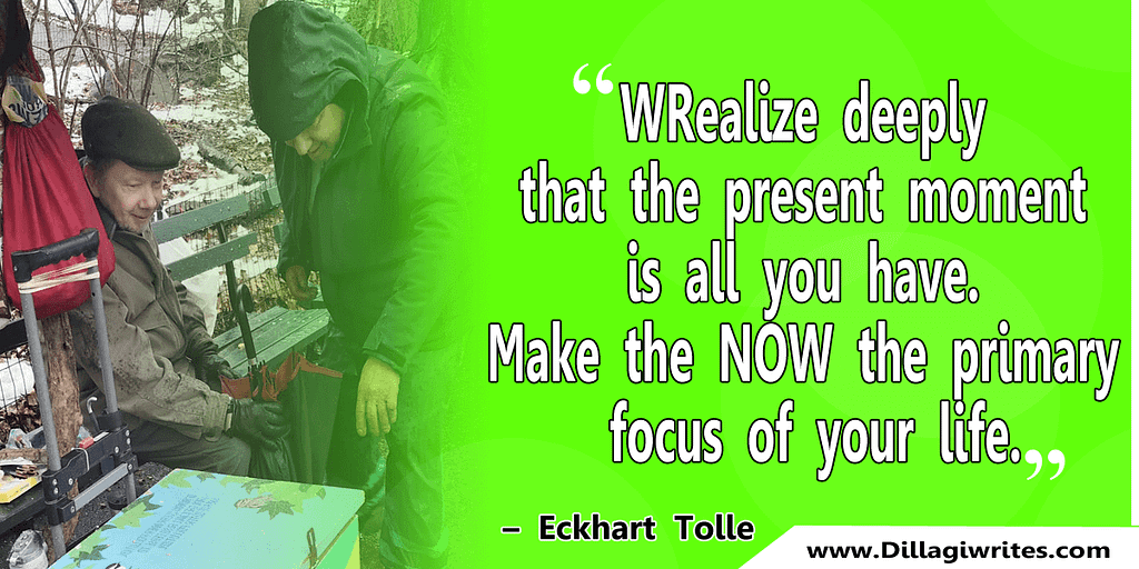 eckhart tolle present moment quotes