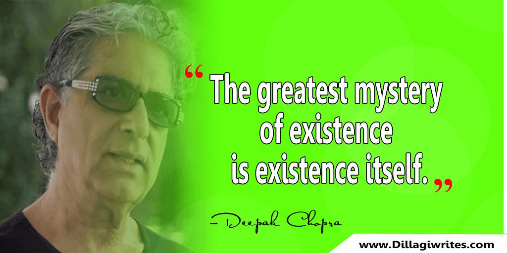 dr deepak chopra quotes