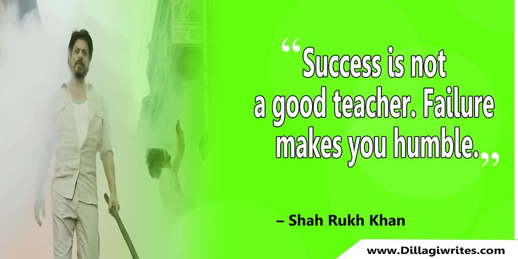 shahrukh khan quotes 11 Shahrukh Khan Quotes and Dialogues  King Khan