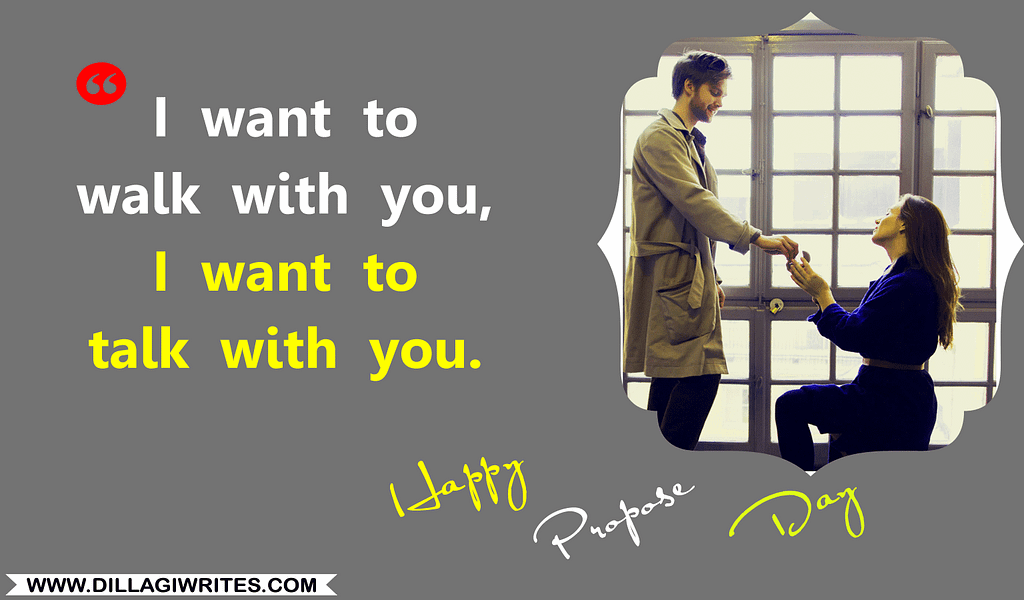 propose day quotes for girlfriend