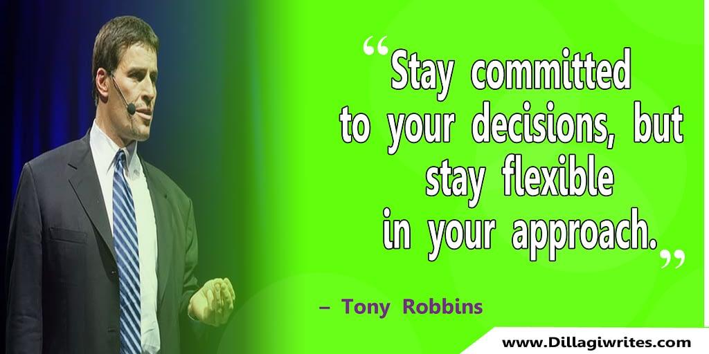 tony robbins positive quotes