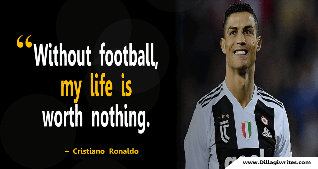 ronaldo quotes on hard work