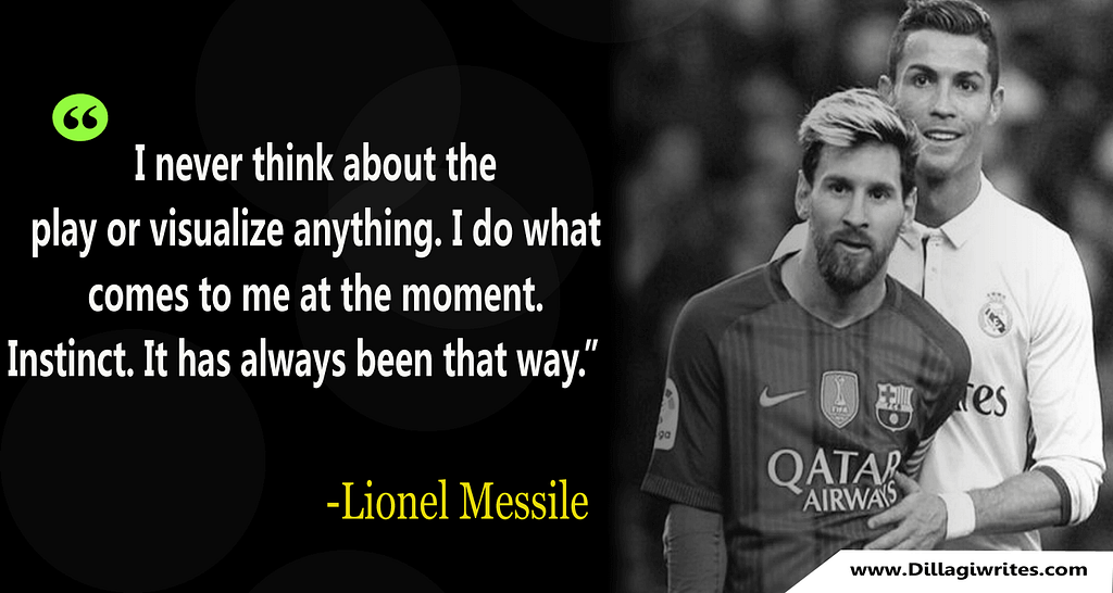 messi quotes about ronaldo