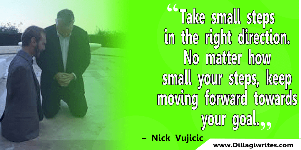 nick vujicic quotes 17 Nick Vujicic Quotes That Will Motivate You