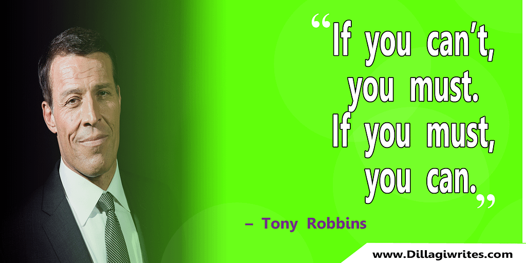 Tony Robbins Quote Images
