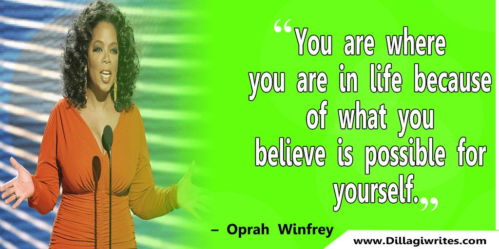 oprah winfrey story