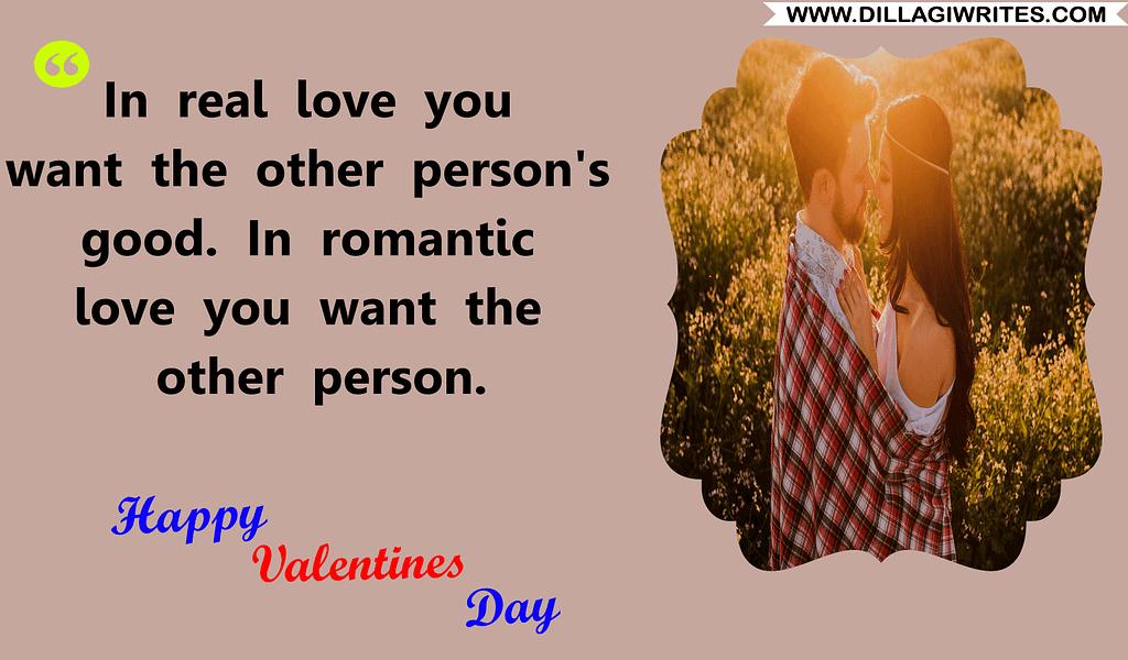 valentine caption