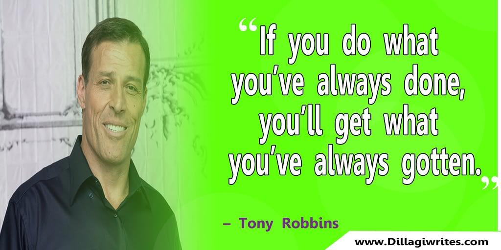 tony robbins sayings