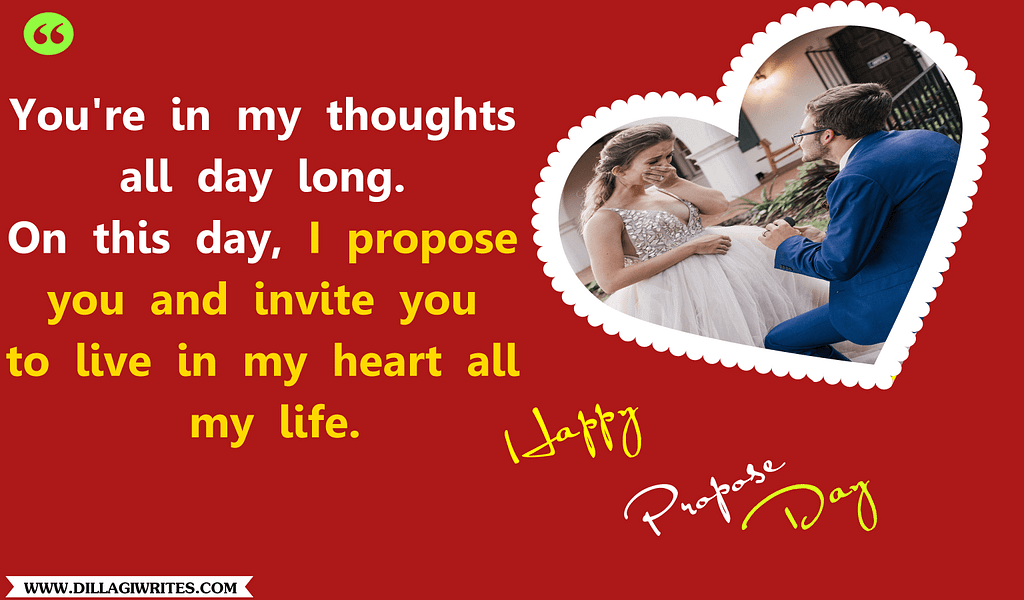 propose anniversary wishes for girlfriend