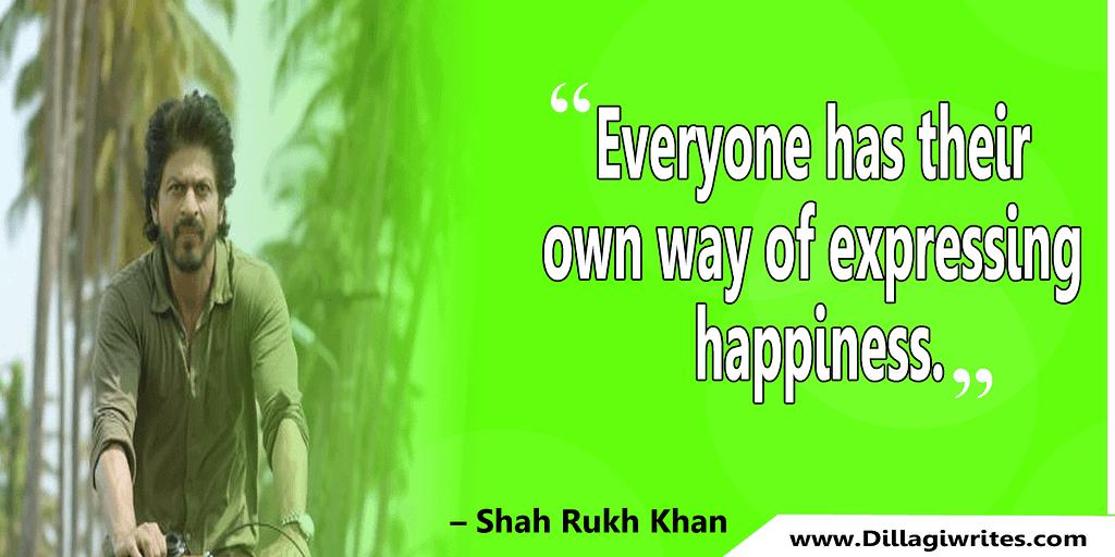 shahrukh khan quotes 26 Shahrukh Khan Quotes and Dialogues  King Khan