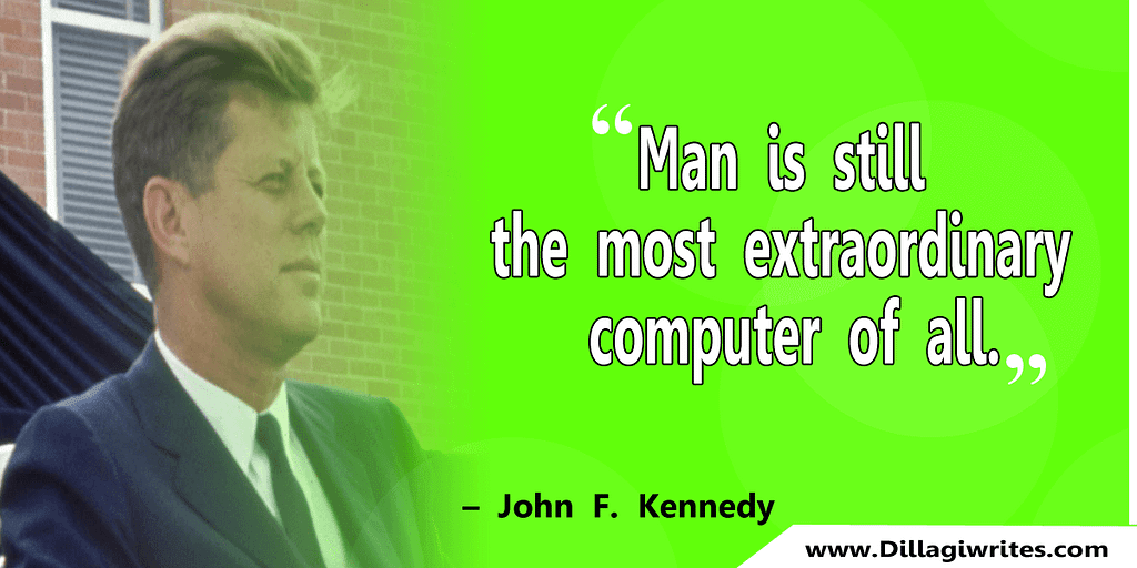 john f kennedy quotes on leadership