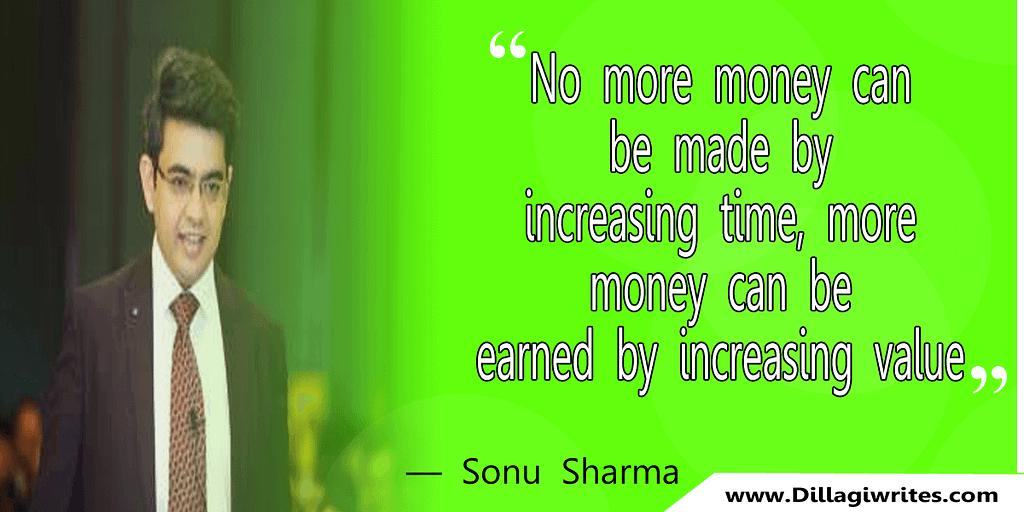 sonu sharma motivational story