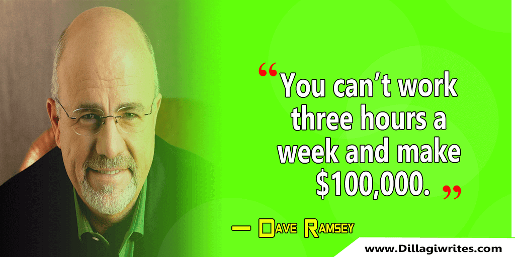 dave ramsey live like no one else quote