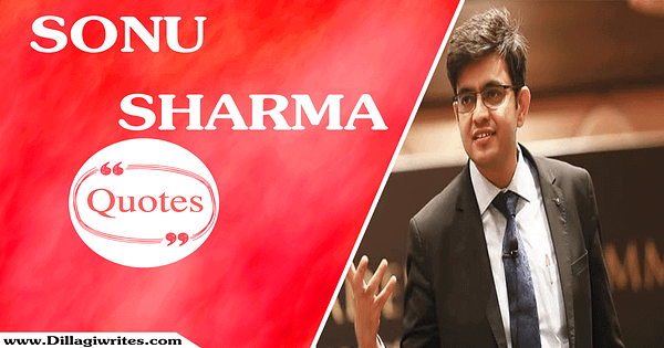 Sonu Sharma Quotes