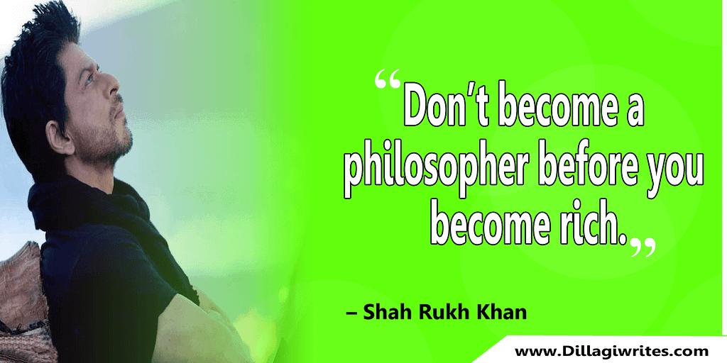 shahrukh khan quotes 28 Shahrukh Khan Quotes and Dialogues  King Khan