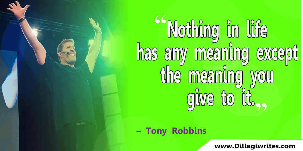 tony robbins quotes for employees