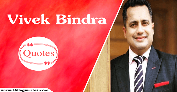 Vivek Bindra Quotes