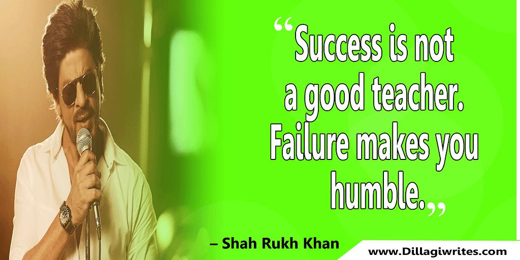 shahrukh khan quotes 39 Shahrukh Khan Quotes and Dialogues  King Khan