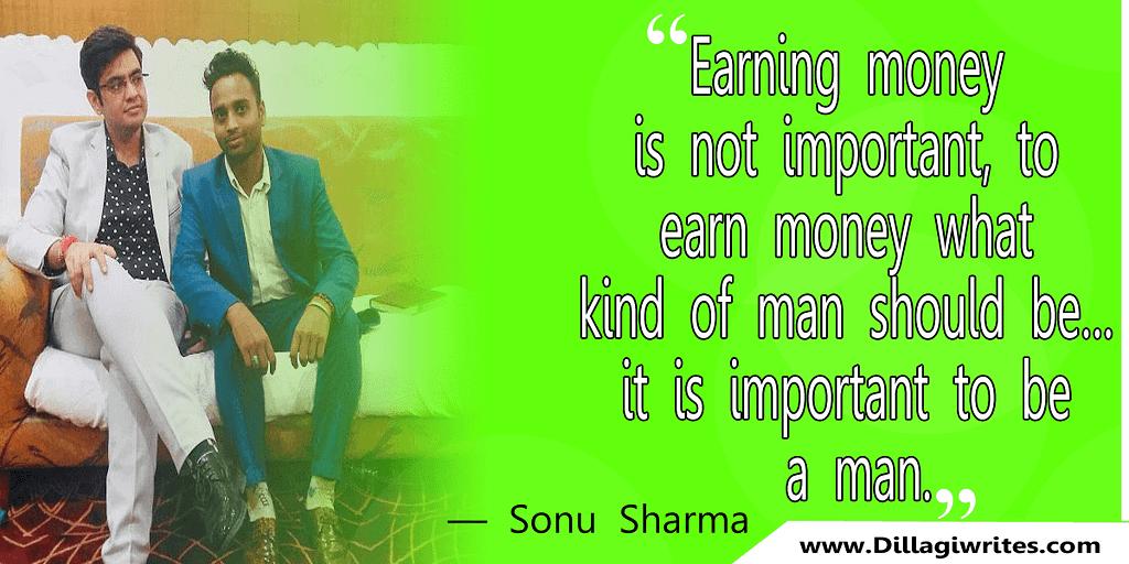sonu sharma quotes images