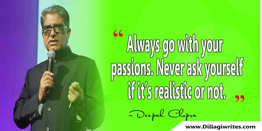 deepak quotes