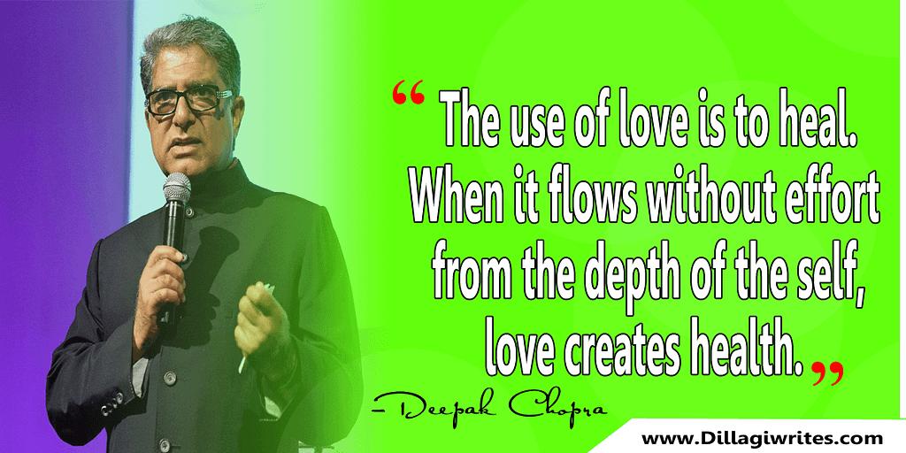 ayurvedic quotes deepak chopra