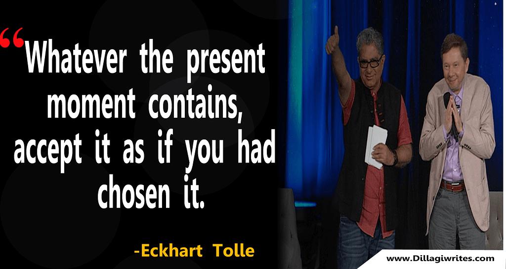 eckhart tolle nothingness