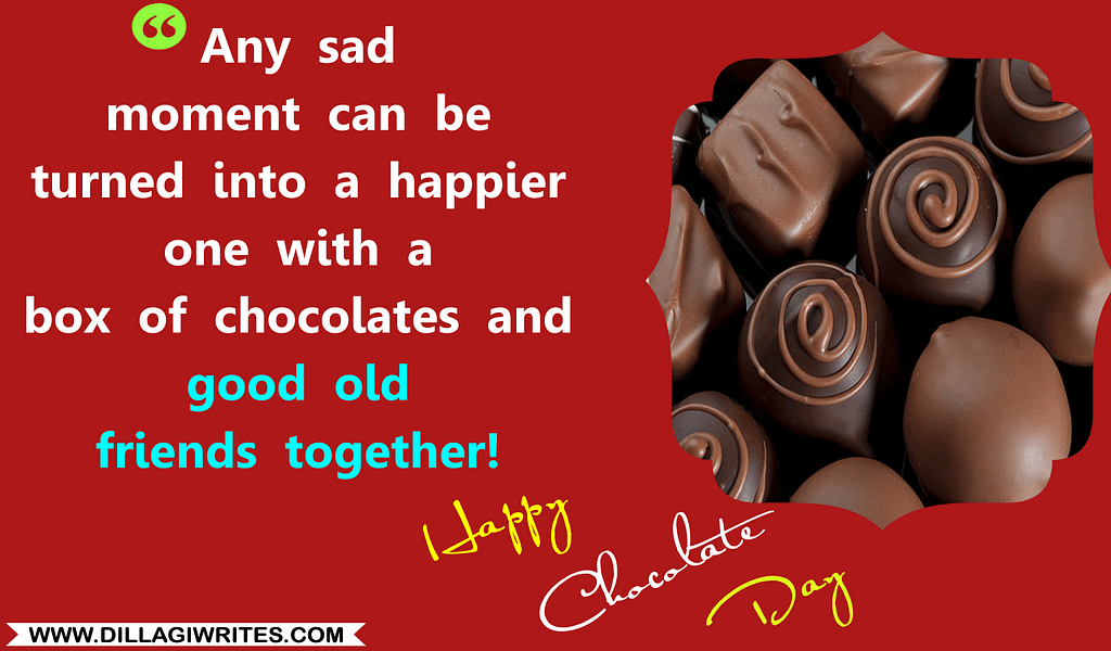 world chocolate day quotes