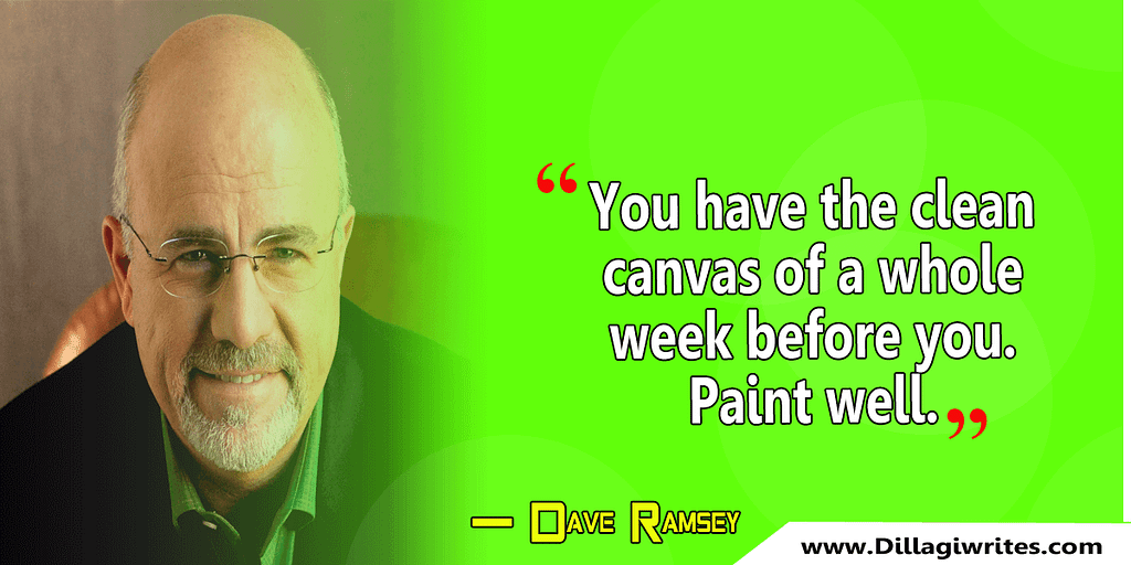 dave ramsey quote live today
