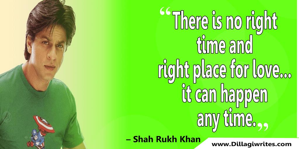 shahrukh khan quotes 27 Shahrukh Khan Quotes and Dialogues  King Khan