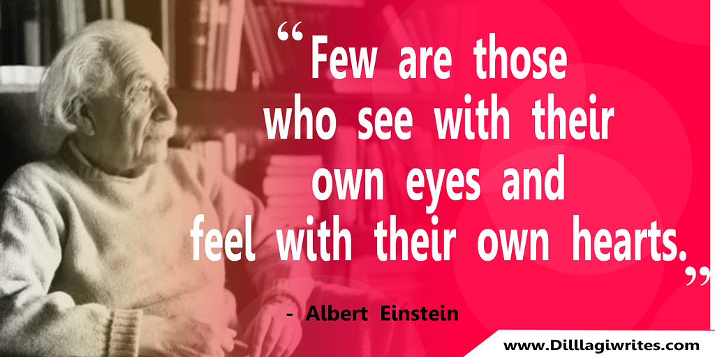 Albert einstein quotes in English