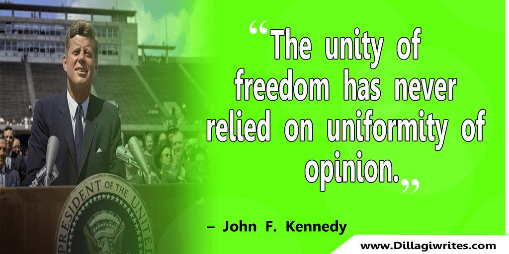 john f kennedy jr quotes