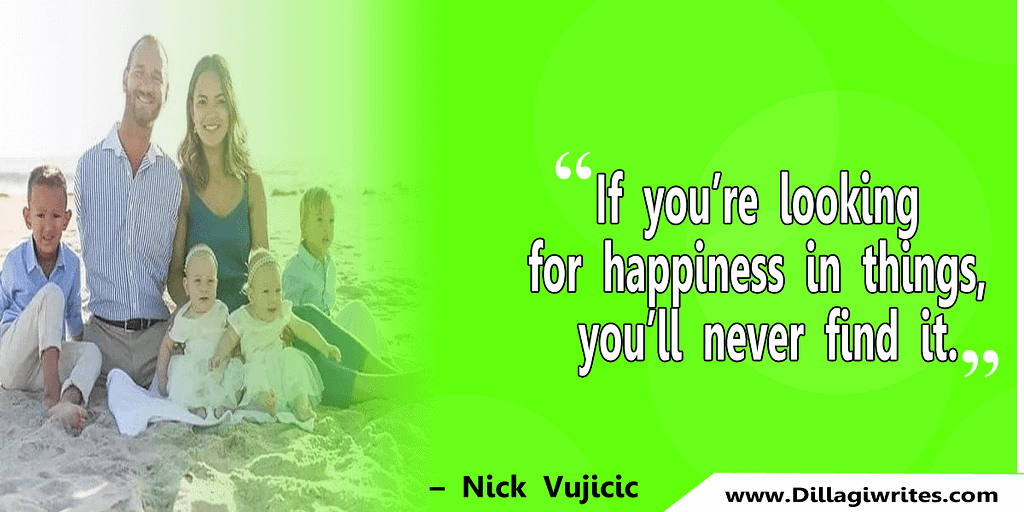 nick vujicic quotes 33 Nick Vujicic Quotes That Will Motivate You