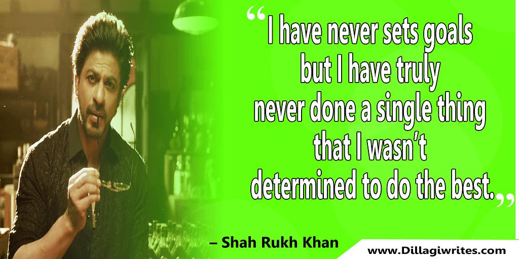 shahrukh khan quotes 32 Shahrukh Khan Quotes and Dialogues  King Khan