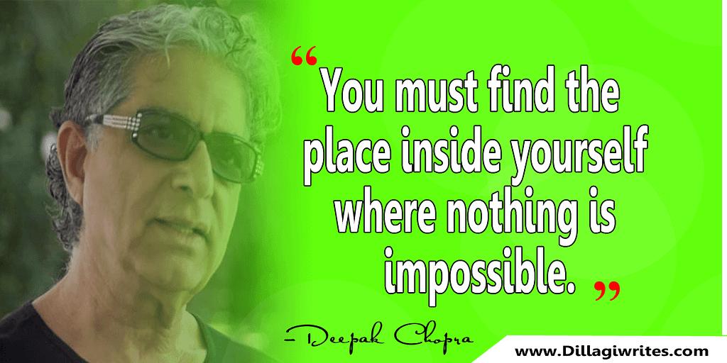 deepak chopra daily quotes