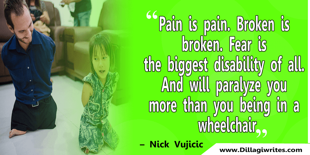 nick vujicic quotes 36 Nick Vujicic Quotes That Will Motivate You