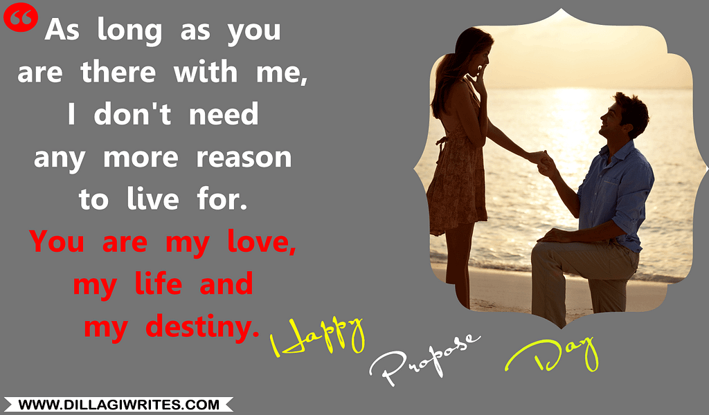 propose quotes for love