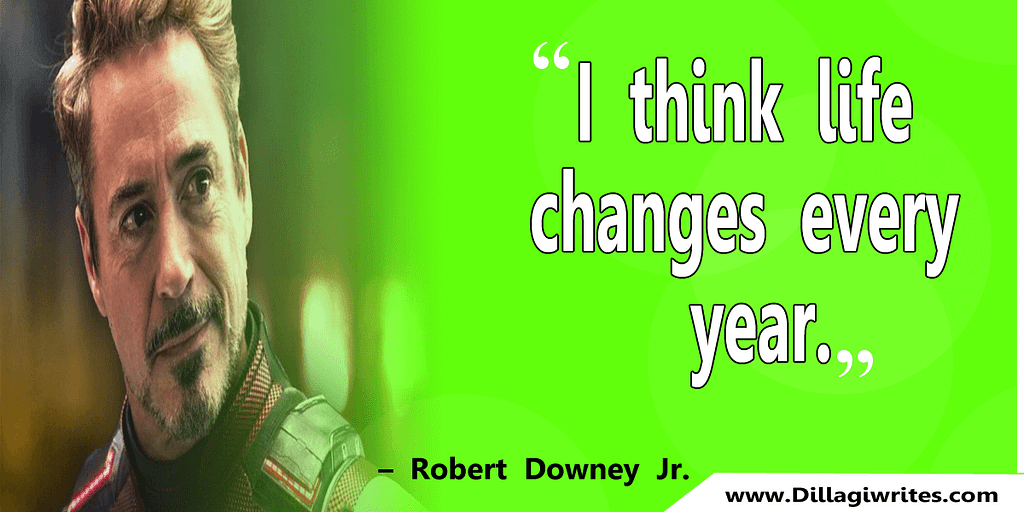 robert downey jr quotes on life