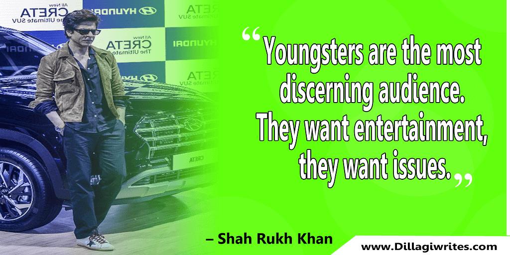 Shahrukh Khan Quotes and Dialogues