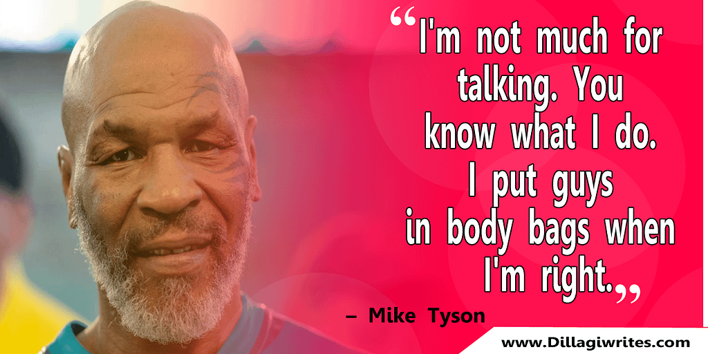 mike tyson quotes song