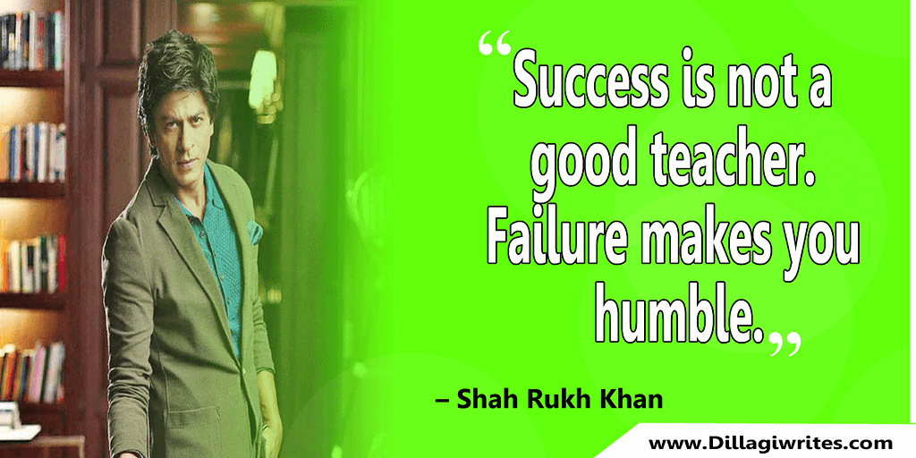 shahrukh khan quotes 9 Shahrukh Khan Quotes and Dialogues  King Khan