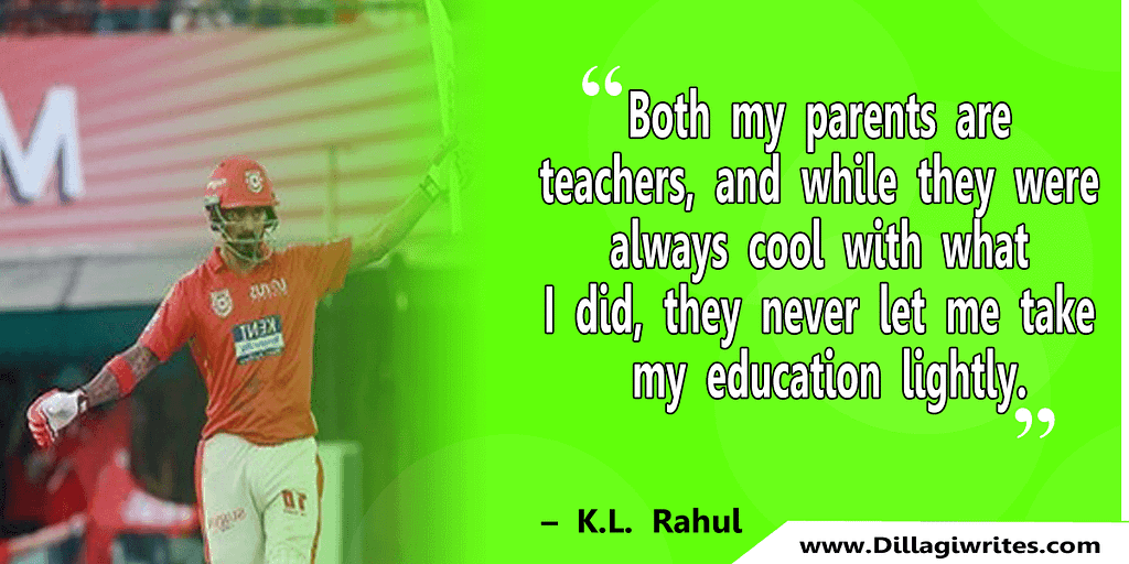 kl rahul motivational quotes