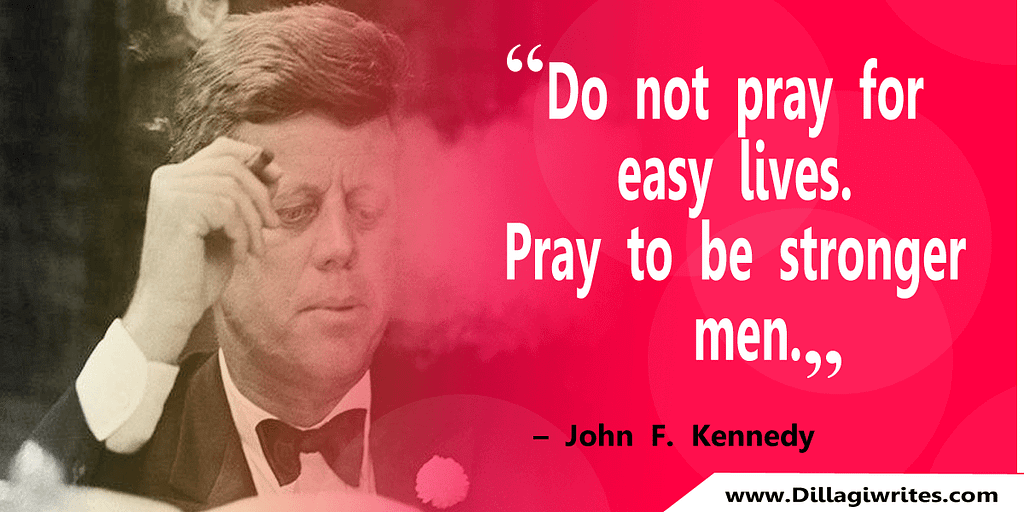 john f kennedy quotes on education