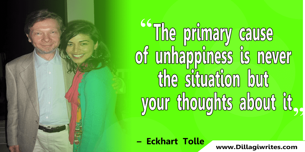 eckhart tolle the end of your problems