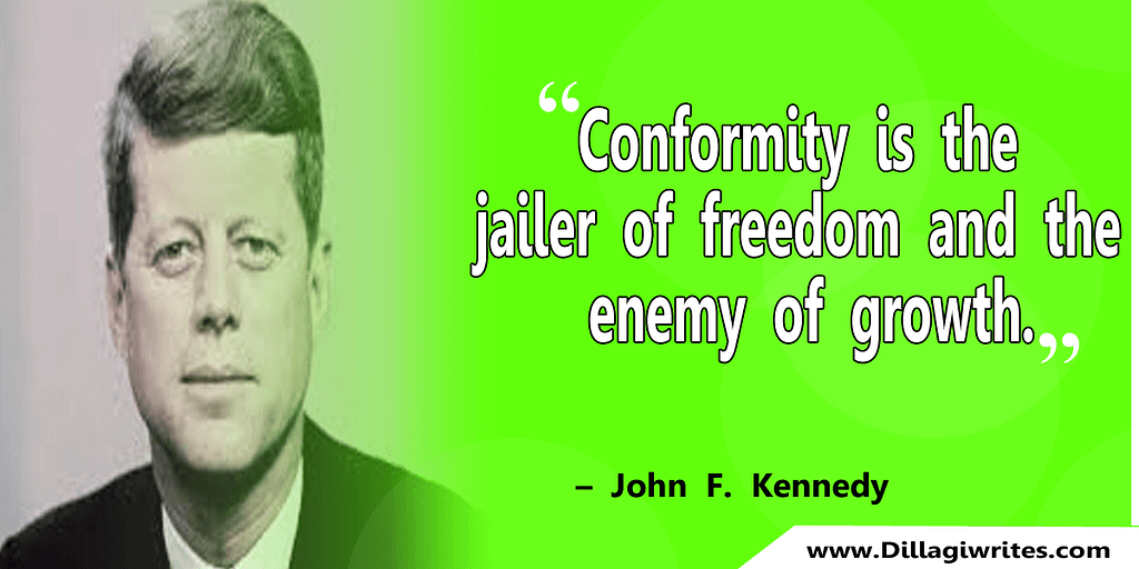 john f kennedy quotes future