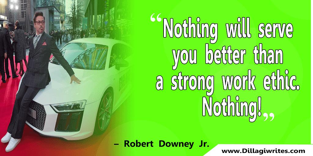 robert downey jr inspirational quotes