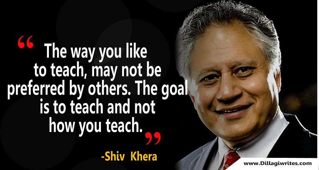 shiv khera thoughts in english
